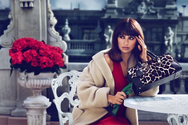Penelope Cruz co-designs and models Loewe autumn/winter 2013 accessories