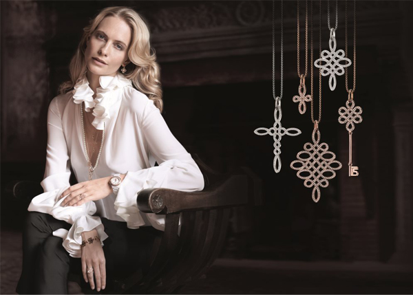Poppy Delevingne is Glam & Soul personified for Thomas Sabo AW13