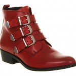 Lunchtime Buy: Office Breakout red leather boots