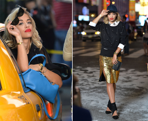Rita Ora is the new face of DKNY!