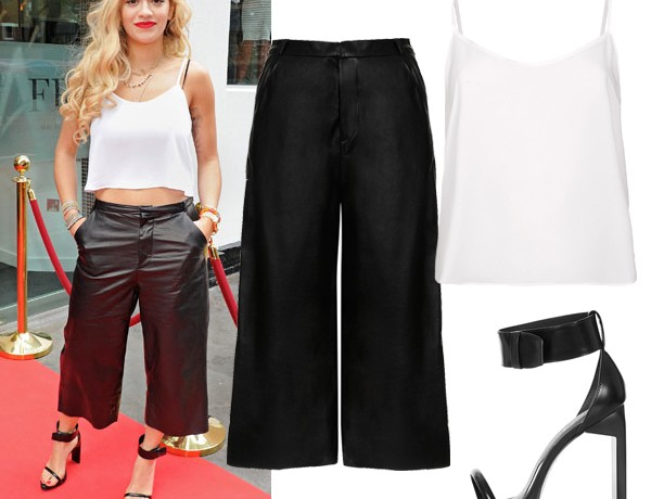 Get Rita Ora's monochrome Topshop look