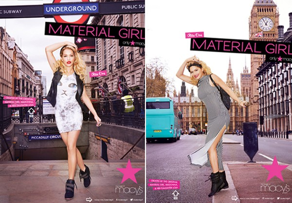 See Rita Ora's Material Girl ad campaign in full! (Pics & vid!)