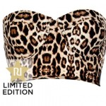 Lunchtime Buy: River Island brown animal print high waist bikini