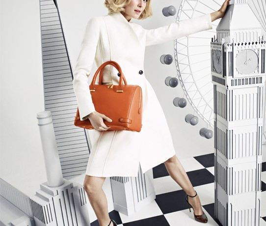 Rosamund Pike returns for LK Bennett, unveils handbag collection