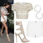 Get Selena Gomez's embellished look
