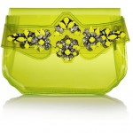 Lunchtime Buy: Shourouk crystal-embellished PVC clutch