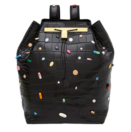 the-row-damien-hirst-backpack-lady-gaga