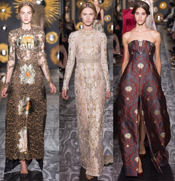 "Valentino's ""balanced"" Haute Couture AW13 show"