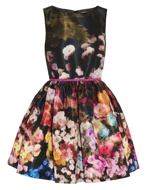 Lunchtime Buy: Red Valentino floral-print taffeta dress