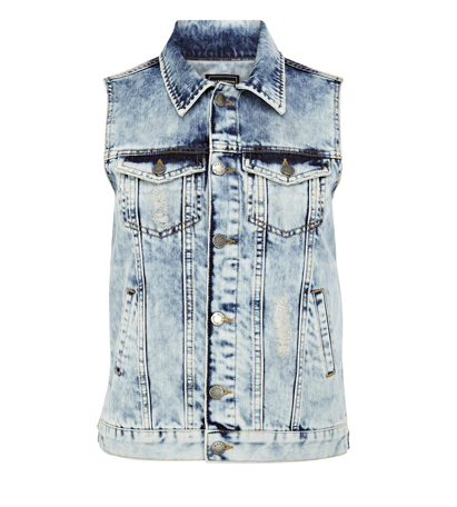 Lunchtime Buy: Warehouse distressed gilet