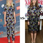 Gwyneth Paltrow vs. Rose Byrne…Who wore Erdem better?