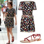 Get Alexa Chung's floral Kenzo look