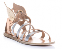 Lunchtime Buy: Ancient Greek Sandals metallic-leather sandals