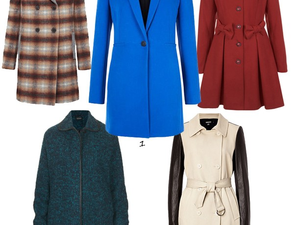 Keep out the chill in our top 5 autumn coats