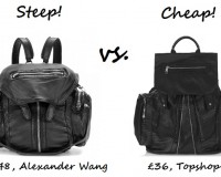 Steep vs. Cheap: The black backpack