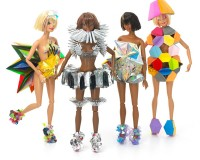 Up and coming London designers give Barbie a makeover