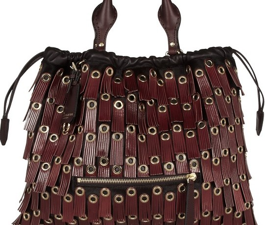 Burberry Prorsum Tassel-Trimmed Tote: Yay or Nay?