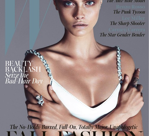 Cara Delevingne scores W's September 2013 issue
