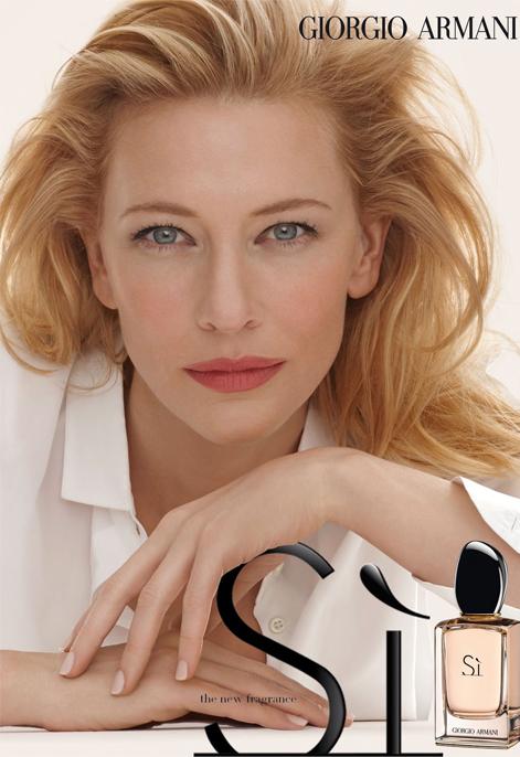 First look: Cate Blanchett's Giorgio Armani Si fragrance ad campaign