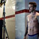 Sneak peek at David Beckham's H&M bodywear AW13 ads