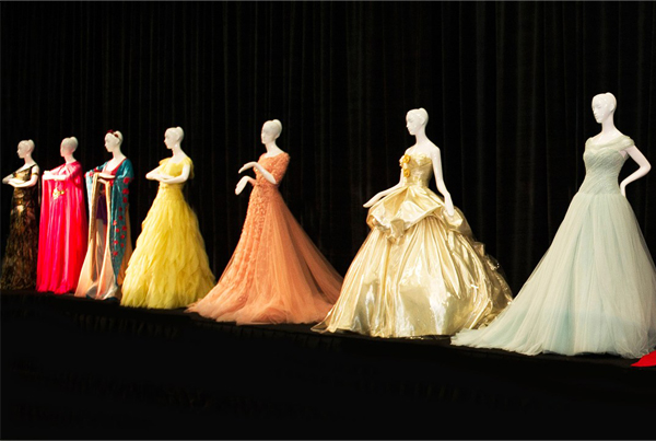 Harrods' Disney Princess dresses go under the hammer!