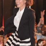 Emma Willis is monochrome cute at Celebrity Big Brother launch