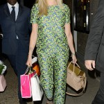 Fearne Cotton wears Boutique by Jaeger for Celebrity Juice return