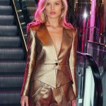 Georgia May Jagger stuns in Sass & Bide in Sydney
