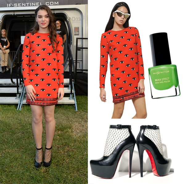 Get Hailee Steinfeld's eye-catching look