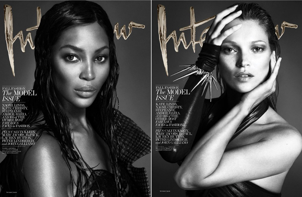 Naomi Campbell, Kate Moss and more iconic supers cover Interview's September Model Issue