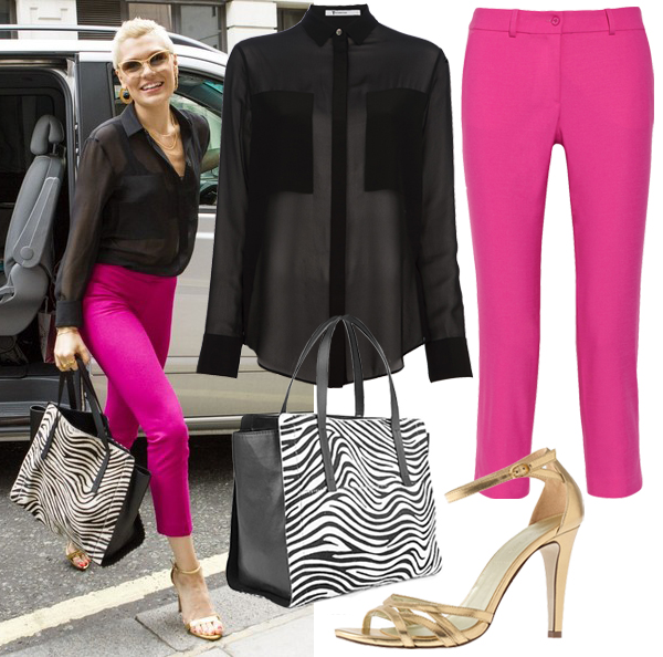 Get Jessie J's colour popping Joseph look