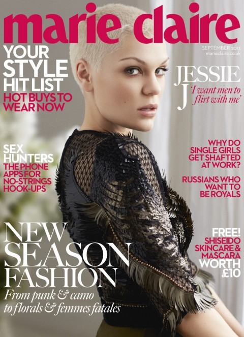 jessie j marie claire uk september