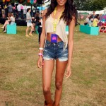 Jourdan Dunn nails the festival look at V Festival