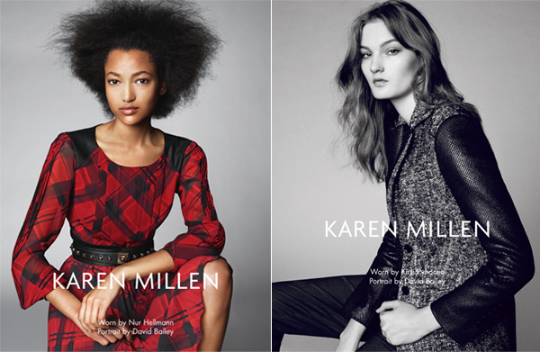 Karen Millen goes in a new direction for AW13 ads