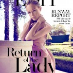 Kate Bosworth ladylike in Lanvin for The Edit
