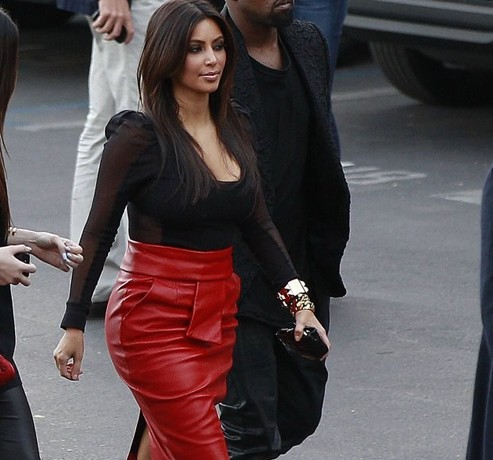 Is Kanye West making Kim Kardashian quit her Sears line?