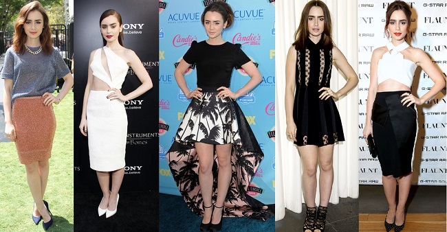 Lily Collins is Best Dressed of the Week