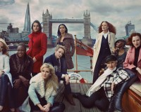 Helen Mirren, Grace Coddington and more 'Leading Ladies' pose for Marks and Spencer AW13