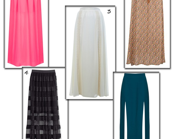 Feel free and fabulous in the maxi skirt
