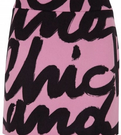 Moschino Cheap and Chic printed skirt: Yay or Nay?