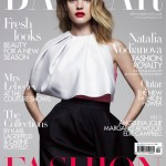 Natalia Vodianova wows in Dior for Harper's Bazaar UK September 2013