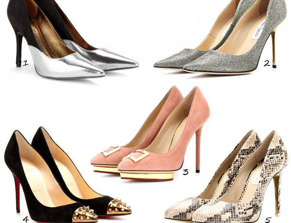 Treat yourself to five fab new-season heels!