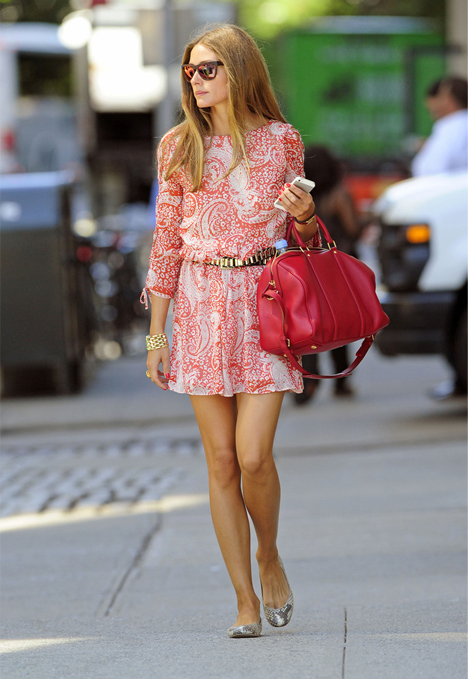 We heart Olivia Palermo's ASOS girl-about-town look