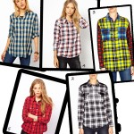 Lumberjack chic! Plaid shirts for all budgets