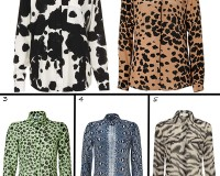 Unleash your animal side with these fierce printed blouses