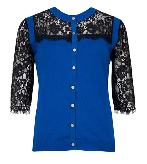 Lunchtime Buy: Ted Baker 'Gwuna' lace cardigan