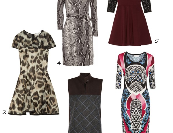 5 of the best new season transitional dresses