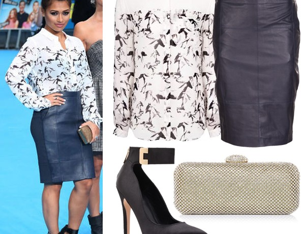 Get Vanessa White's We're The Millers premiere look