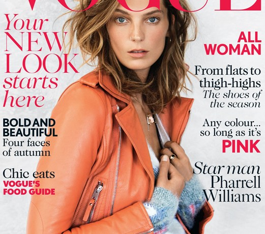 Daria Werbowy for British Vogue September 2013
