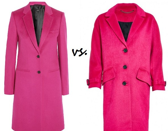 Steep vs. Cheap: Pink coat